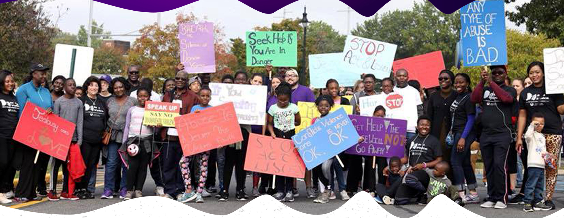 Touch Link 2019 Walk for Victims of Domestic Violence